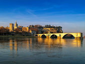 St.-Benezet bridge in Avignon, France — Stock Photo