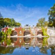Sanssouci park in Potsdam - Stock Photo
