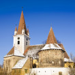 Fortified church in transylvania — Stock Photo #17825481