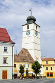 Sibiu, european capital of culture 2007 — Stock Photo