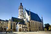 Thomas Church in Leipzig — Stock Photo