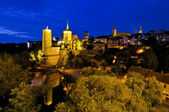 Bautzen at night — Stock Photo