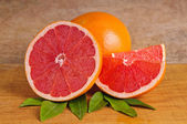 Pink grapefruit — Foto Stock