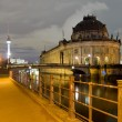 Stock Photo: Berlin, germany, at night
