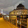 Berlin, germany, at night — Stock Photo