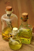 Olive and herbal oil — Foto Stock