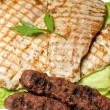 Traditional romanian grilled meat — Stock Photo