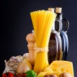 Royalty-Free Stock Photo: Pasta still life