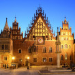 Stock Photo: Old city hall in wroclaw