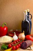 Italian food — Стоковое фото