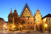 Old city hall in wroclaw — Stock Photo