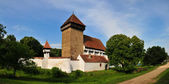 Fortified church — 图库照片
