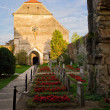 Cartmonastery in transylvania — Stock Photo #22350599