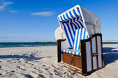 Strandkorb Baltic Sea — Stock Photo