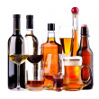 Different alcoholic drinks — Stock Photo #29565145