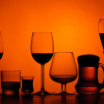 Alcoholic drinks — Stock Photo