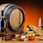 Cheese and wine — Stock Photo #29566793
