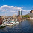 Hamburg panorama — Stock Photo