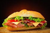 Traditional sandwich — Stock Photo
