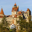 Bran castle in transylvania, romania — Stock Photo #34841881