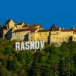 Rasnov fortress in trasylvania — Stock Photo