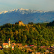 Cisnadioarvillage in transylvania, romania — Stock Photo #34842247