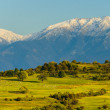 Panorama landscape with mountains — Stock Photo