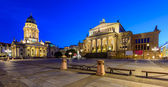 German Cathedral and Konzerthaus, Berlin, Germany — Stock Photo