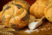 Bread and pastry — Stock Photo