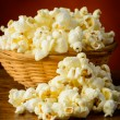 Popcorn closeup — Stock Photo