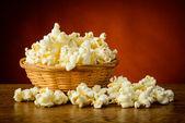 Traditional homemade popcorn — Stockfoto