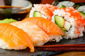 Sushi close-up — Stockfoto