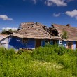 An old ruined country house — Stock Photo