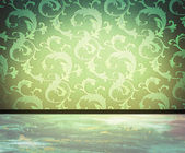 Damask interior with copy space — Stock Photo