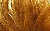 Rotes Haar Textur — Stockfoto
