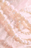 Pearls background — Stock Photo