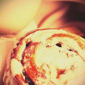 Vintage cupcake — Stock Photo