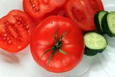 Reif, frisches Gemüse — Stockfoto
