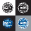 Set of labels for  design, such a logo — Stock Vector