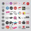Set template of Logotype - Stock Vector