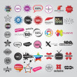 Set template of Logotype - Image vectorielle