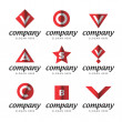 Stock Vector: Universal Book notation symbols signs icons