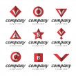 Universal Book notation symbols signs icons — Stock Vector
