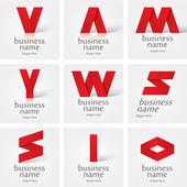 Vector logo design elements — Stock Vector