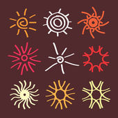 Słońce wektor logo — Wektor stockowy