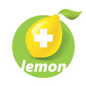 Organic Food, Eco product logo. — Stock Vector