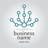 High tech logo — Stock Vector