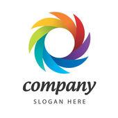 Logotipo de color — Vector de stock