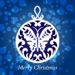 Christmas decorations unusual winter — Vector de stock #22110361
