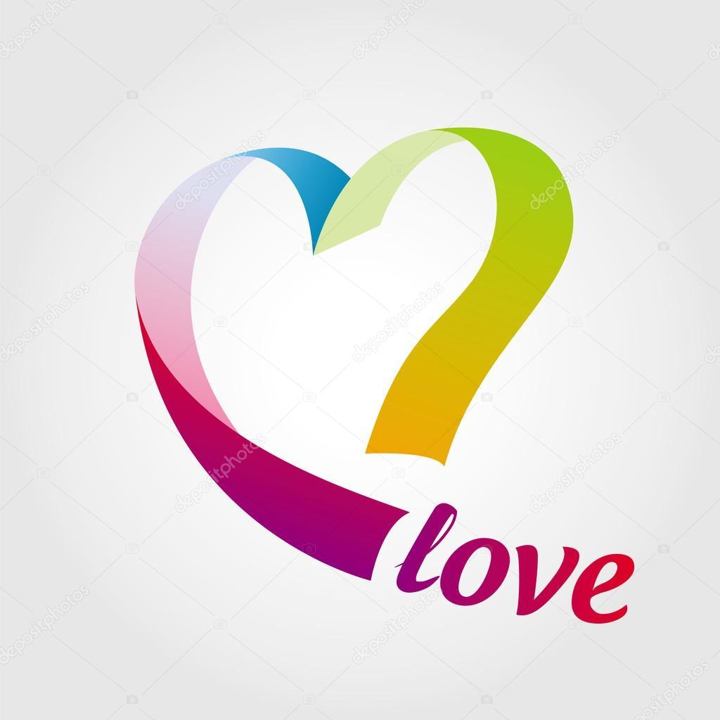 лого сердце: